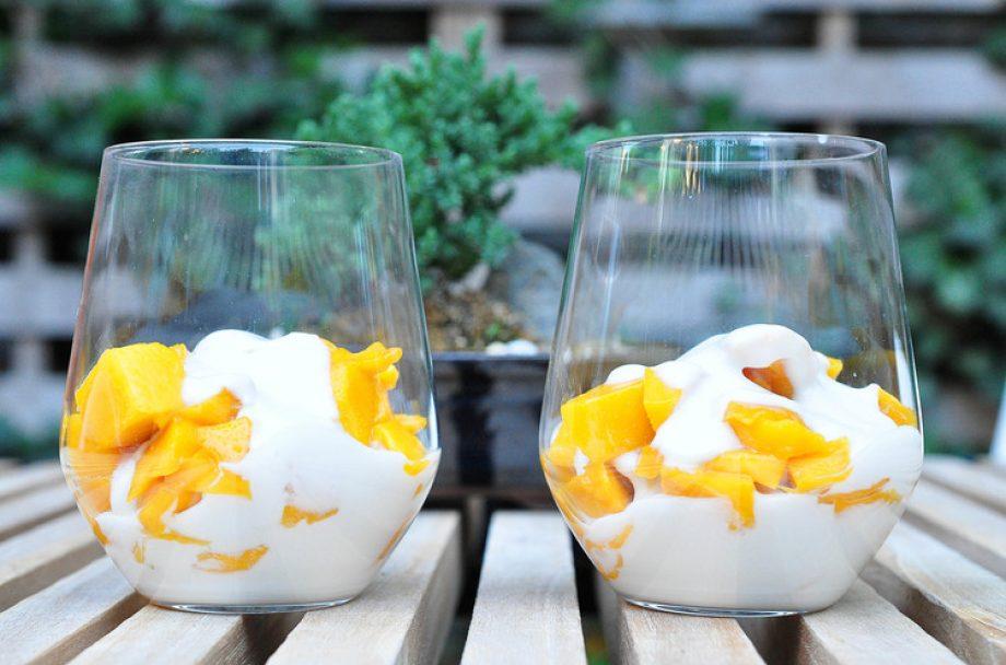 Leanne Brown: Mango Coconut Cream Parfait