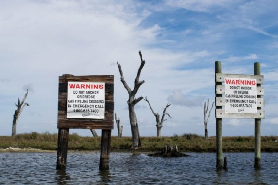 Disappearing Landscapes in Louisiana: When Google Maps Can't Catch Up