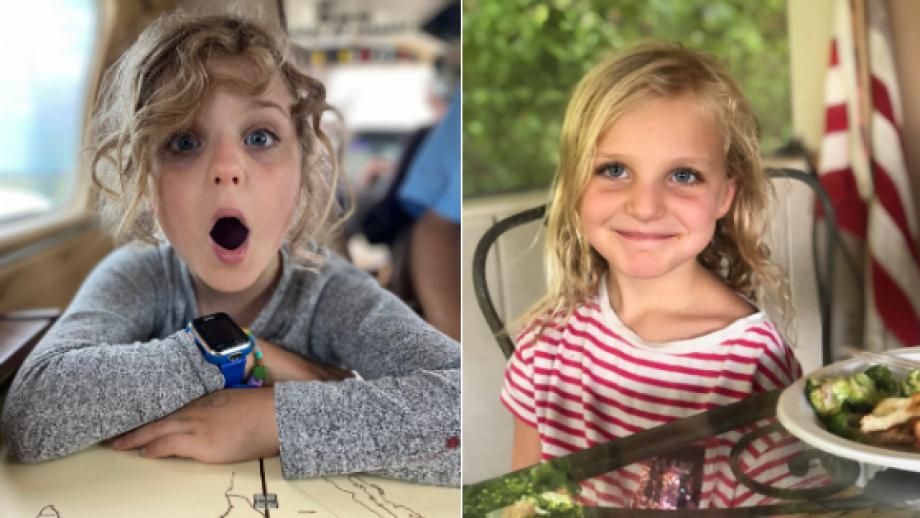 Ella and Clara Klein – Sandi's Granddaughters