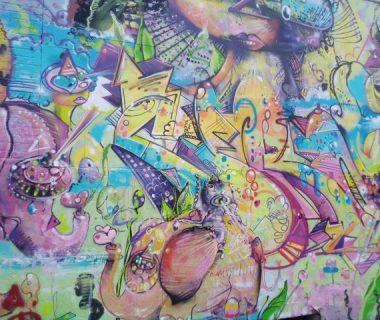 Rainbow Sparkle and Graffiti
